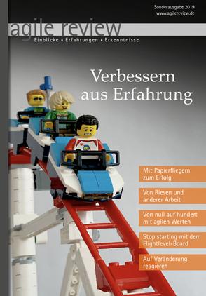 "agile review, Sonderausgabe 2019 ""Verbessern aus Erfahrung"""